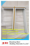 Suspendido del techo de aluminio popular cuadrícula T/T-Bar