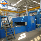 La placa de acero/hojas automático de limpieza y pintura de la línea de pretratamiento de la máquina