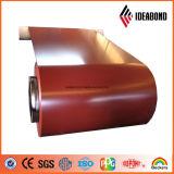 ACP bobine en aluminium à revêtement de couleur