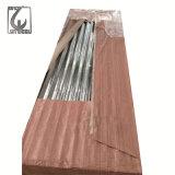 Lamiera di acciaio ondulata di Galvanzied del materiale di tetto con spessore di 940mm