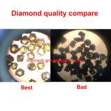 do diamante duro de mármore da almofada de polonês de 80mm almofada de moedura