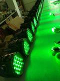 IP65 PARIDADE impermeável do diodo emissor de luz 54*3W RGBW para o estágio ao ar livre (HL-033)