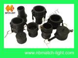 Koppeling Camlock van het Type B van Koppeling van Polypropylen PPR de Mannelijke BSPT Ingepaste