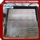 印刷されたアルミホイルが付いている完全なブランドの岩綿のインシュレーション・ボード