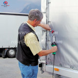 Costura a reparar la máquina soldadora de fusión de plástico de geomembrana