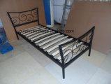 꽃 금속 1인용 침대 (OL17152)