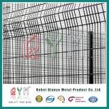 Pvc bedekte de Hoge Omheining van de Veiligheid met een laag galvaniseerde de Gelaste Omheining van de Veiligheid Airpot