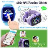Resistente al agua reloj GPS Tracker para los niños/seguridad para los niños con podómetro D25