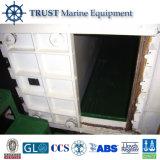 Puerta corrediza hidráulico de acero naval