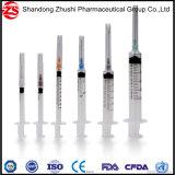 consommables médicaux de 3cc 5cc non stériles ou seringue remplaçable stérile