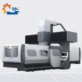 Doble cabeza móvil Gantry borde fresadora CNC para la placa de acero