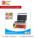 ステンレス鋼(NP-3)が付いている商業小型ドーナツ機械/Donutのワッフルメーカー