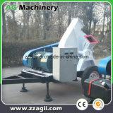 車輪が付いている移動可能なディーゼル機関主導のディスク粉砕機の移動式木製の砕木機