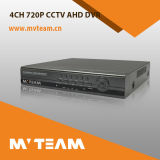 híbrido multilíngue DVR do CCTV DVR de 4CH 720p P2p