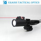 Tactique de Chasse professionnelle 1000 Lumens CREE T6 Lampe de poche LED avec Lumière stroboscopique jointe avec spectacle laser rouge