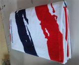 """400のGSM浜の100%年綿のベロアのファイバー反応プリントビーチタオル、30 """"広いX 60 """"の長く"""