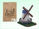 Material de papel DIY juguetes rompecabezas Jigsaw Puzzle 3D (H4551348)