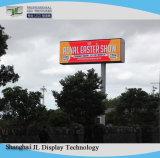 P8 фиксированной установки полноцветный светодиодный экран гигантский наружной рекламы