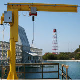 Supplier Floor Mounted Column Jib Crane for Sale clouded