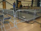 Barriera d'acciaio della strada portatile resistente/barriera mobile della rete fissa