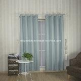 2016 Tela de cortina de janela de design moderno de cor azul da água