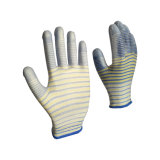 Style Zebra PU Glove Gant de tricot de nylon prix bon marché !
