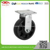 6 Zoll-einzelne verschlossene Hochtemperaturfußrolle (P701-61F150X50Z)
