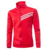 Пригонка Mens 100%Polyester тонкая промелькивает вверх куртку (A506)