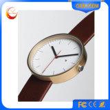 Cavalo relativo à promoção do relógio ocidental da forma do aço inoxidável marcado pulso quente elegante de quartzo (031)