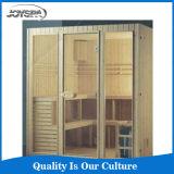 Salle de sauna infrarouge à vente chaude Canada Hemlock 6 personnes Sauna Cabin