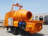 Высокая эффективность энергосбережения прицепа дизельного конкретные насос для продажи