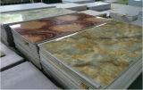 Пожаробезопасная искусственная мраморный плитка стены для нутряного украшения
