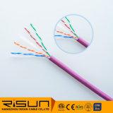 Kabel des Netz-Kabel-UTP CAT6 (festes) 305m/Roll