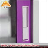 Vidro corrediço de porta de vidro armário metálico