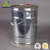 benna della vernice del metallo 18litre/secchio per il rivestimento, uso della fabbrica con il coperchio abbinato e maniglia liquidi, sigillamento stretto