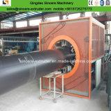 PUの泡立つ機械およびコロナ機械が付いているHDPEの袖の包装の管の突き出る機械