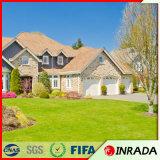 ドアおよび庭のための高品質および美しい景色の人工的な草