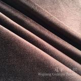 光沢はソファーカバーのための極度の柔らかいビロードファブリックを終えた