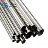 SS304, tubo de acero inoxidable 316L con EC PED97 certificada