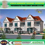 Дешевый самомоднейший гальванизированный дом дома стальной структуры Prefab полуфабрикат модульный