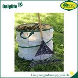 環境に優しい洗濯および屋外のReuseableの庭の葉の無駄袋