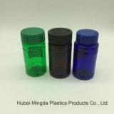 Nuovo recipiente di plastica dell'animale domestico di arrivo con induzione dorata guarnizione/della protezione