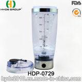 휴대용 600ml 최신 판매 플라스틱 와동 병, BPA는 해방한다 플라스틱 전기 단백질 셰이커 병 (HDP-0729)를
