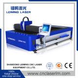 Machine de découpage de laser de fibre en métal de commande numérique par ordinateur Lm4015g avec le Tableau simple