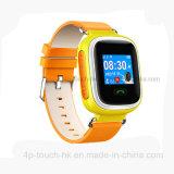 TFTセリウム公認Y5が付いている多彩なスクリーンGPSの追跡者の腕時計