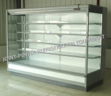 Congelatore aperto del dispositivo di raffreddamento della visualizzazione di Multideck del supermercato con il compressore a distanza