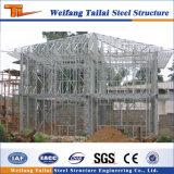 China Diseño y fabricación de prefabricados de la luz de la casa de estructura de acero de construcción
