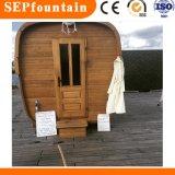 Piscine intérieure et sauna infrarouge sec chambre et salle de sauna à vapeur