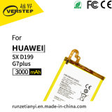 La capacidad original batería de repuesto para Huawei 5X/D199/G7plus Hb396481EBC 3.8V 3000mAh