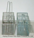 Cage piquante de chat sauvage pliable pour le piégeage